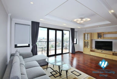 An extremely gorgeous 2 bedroom apartment for rent on Xuan Dieu street.